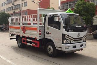 乐投国际米兰俱乐部东风厢长4.1米气瓶运输车