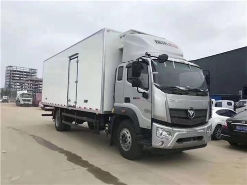 乐投国际米兰俱乐部福田瑞沃5.8米冷藏车