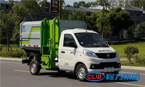程力福田高端环卫车辆担纲美丽乡村、城镇环卫事业建设主力军