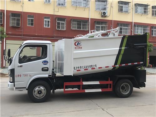 国六东风多利卡5吨湿垃圾运输车