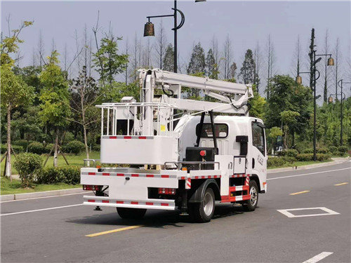 解放V虎(国六蓝牌)13.5米高空作业车