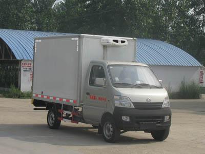 重庆长安冷藏车 厢长2.55米冷藏车