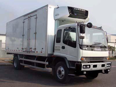 8.255吨庆铃五十铃FVR冷藏车
