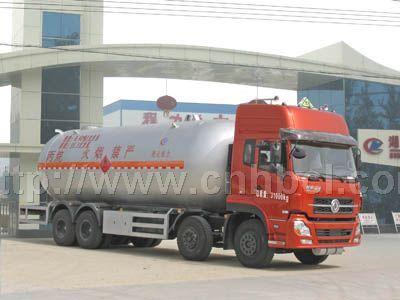国四东风天龙前四后八液化气体运输车