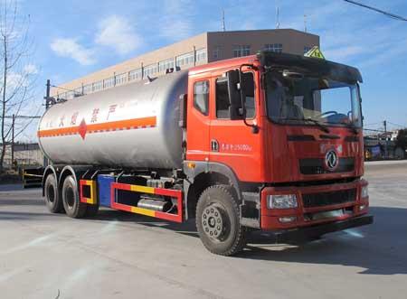 国四东风后双桥液化气体运输车(25.3方)