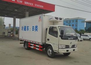 国五东风多利卡D6冷藏车