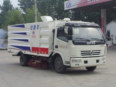 国五东风多利卡D6扫路车(1.5方水/4方尘)