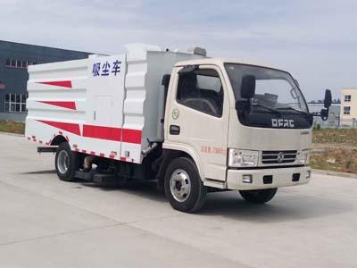 国五东风多利卡D6吸尘车(1+4方)