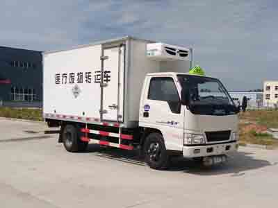 国五江铃厢长3.95米医疗废物转运车