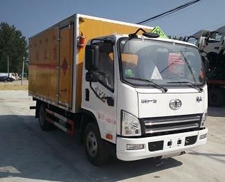 国五解放厢长4.1米爆破器材运输车