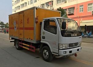 国五东风小多利卡毒性和感染性物品厢式运输车
