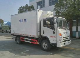 程力厢长4米冷藏车