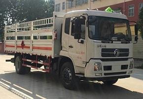 国五东风天锦厢长6.6米气瓶运输车
