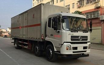 国五东风天锦厢长8.6米易燃气体厢式运输车