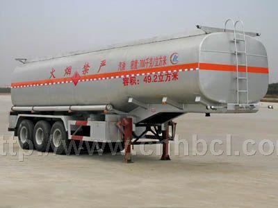 55立方运油半挂车 38.5吨油罐车